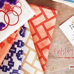 Napkin Collection from Safiya Jamila -