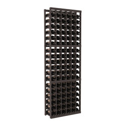 Wine Racks America - 6 Column Standard Wine Cellar Kit in Pine, Black + Satin Finish - Six columns for bottle storage is a perfect solution for 9 cases of wine. The modular format ensures you can expand storage without worrying about new racks lining up properly. We construct every rack to our industry-leading standards. You'll love our racks. Guaranteed.