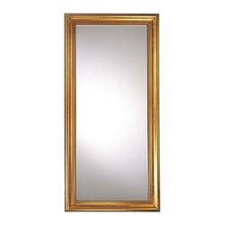 """Ambience - Ambience AM 56400 Traditional/Classic Rectangular Mirror from the Reflections Co - Beveled (sloped) EdgesDimensions: 79""""H x 38"""" W x 2.5""""D"""