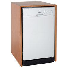 "Avanti 18"" Built-in Energy Star Dishwasher - White - DWE1812W"