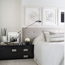 white + black & gray accents