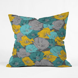 Retro Dreams Throw Pillow Cover - This design was a hit back in the day. It's made a comeback, so pour yourself a cold martini, grab this cozy pillow cover, and watch a season of your favorite mid-century television show.