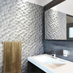 contemporary bathroom by modularArts
