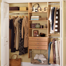 Traditional Closet by Closet Systems By Timm
