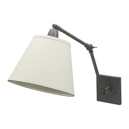 House of Troy - House of Troy DL20 Swing Arm Sconce - House of Troy DL20-OB Oil Rubbed Bronze Swing Arm Sconce