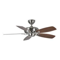 Monte Carlo Fan Company - Monte Carlo Fan Company 5DM44BS Designer Max Ii Indoor Ceiling Fans in Brushed S - 44 Designer Max II