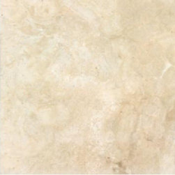 Fioranese - Nu_Travertine Cream Matte 9 x 9 - The Nu_Travertine Series is a color body porcelain that is produced to emulate travertine stone. The unbelievable similarities between this product and actual travertine were made possible due to new, digital, inkjet technology. First, a worldwide search was conducted to find the best pieces of travertine. Second, each and every piece was digitally scanned. Next, all of those images were blended together to create the perfect balance, which resulted in 80 faces/patterns. These faces were then used to print onto the surface of the tile, using the same type of digital/inkjet technology that is used when printing onto paper from your computer. However, in this application, the printing penetrates 2mm into the surface of the tile. Because this material is a porcelain product, minimal maintenance is required, while sharing similar, beautiful visual characteristics of natural stone.