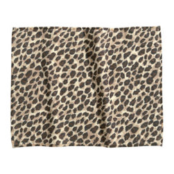 Bath Mat, Leopard Print - It might take a little convincing on your part, but there's no denying that leopard print bath mats are awesome.