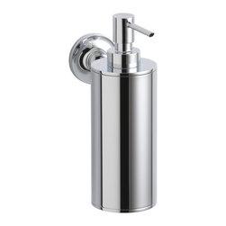 KOHLER - KOHLER K-14380-CP Purist Wall-Mounted Soap/Lotion Dispenser - KOHLER K-14380-CP Purist Wall-Mounted soap/lotion dispenser in Polished Chrome