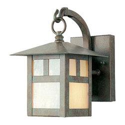 Joshua Marshal - Verde Patina Wall Lantern - Verde Patina Wall Lantern
