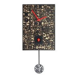 ROMBACH UND HASS - Rombach und Haas Filigree Wall Clock SNQ-2 - Quartz cuckoo