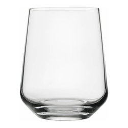 Iittala - Essence Tumbler, Set of 2, 11.75 Oz. Clear - Chic tumblers are an essential part of any home bar. They are perfect for serving up cocktails and mocktails alike. Just add some ice, give it a swirl and enjoy happy hour. After a couple of rounds, you'll especially enjoy the easy cleanup of this dishwasher-safe line of barware.