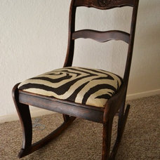 traditional rocking chairs Zebra Rocking Chair