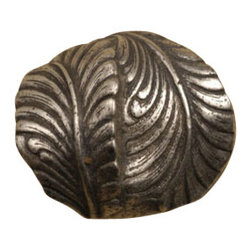 Anne at Home Hardware - Swirl Leaf Knob, Antique Bronze - Made in the USA - Anne at Home customized cabinet hardware enables even the most discriminating homeowner to achieve the look of their dreams.  Because Anne at Home cabinet hardware is designed to meet your preferences, it may take up to 3-4 weeks to arrive at your door. But don't let that stop you - having customized Anne at Home cabinet knobs and pulls are well worth the wait!   - Available in many finishes.