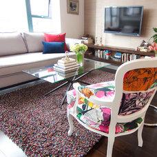 Contemporary Living Room by DesignLaB Interiors