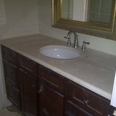Traditional Bathroom Countertops by The Marble &  Stone Shop, Inc.