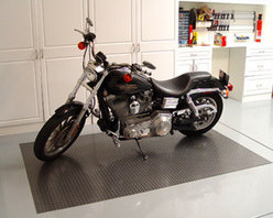 Auto Care Products, Inc. - Motorcycle Mat, 5' x 7.5', Metallic Graphite - Features: