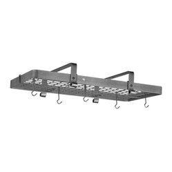 Enclume Low Ceiling Rectangular Pot Racks