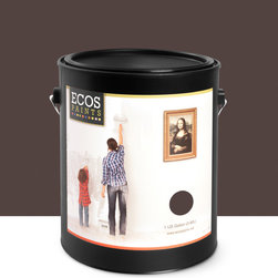 Imperial Paints - Eggshell Wall Paint, Gallon Can, Dark Roast - Overview: