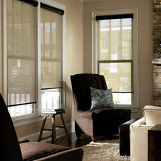 Modern Roller Shades by MADE IN THE SHADE