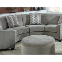 New henry leather sectional modern sectional sofas for Sofas esquineros baratos