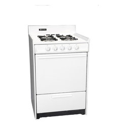 "Brown - 24"" Gas Range, Electronic Ignition - Features:"