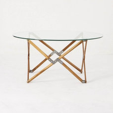 eclectic coffee tables by Anthropologie