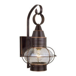 Vaxcel - Chatham Wall Sconce - Vaxcel OW21891BBZ Chatham Burnished Bronze Outdoor Wall Sconce