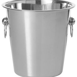 Champagne Bucket - A classy champagne bucket is a must for any holiday dinner party — champagne should always be served icy cold — and this gleaming bucket makes the perfect accent for any room.