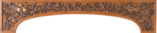 Traditional Range Hoods And Vents by White River Hardwoods