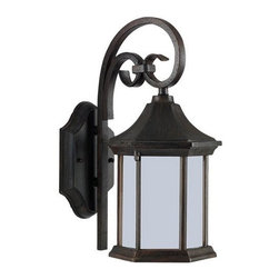 Sea Gull Lighting - Sea Gull Lighting 89136BLE Ardsley Court 1 Light Energy Star Outdoor Lantern Wal - Specifications: