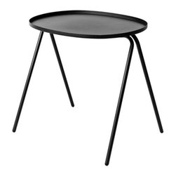 Menu - Afteroom Side Table by Menu - Next to the sofa or the bed, the Menu Afteroom Side Table offers practicality, durability and understated beauty. Design team Afteroom was inspired by the form-follows-function mentality of Bauhaus design in their conception of this steel table's compact, minimalist form. If you have two or more, the table is also conveniently stackable. Menu, headquartered in Denmark, partners with designers to develop and produce a broad assortment of Scandinavian living accessories for the dining room, living room, kitchen, and garden.