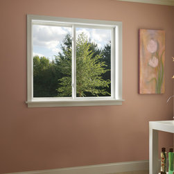 Sliding Window - These vinyl sliding windows are available in two panel or left operating configurations.