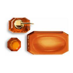 Modo Bath - Harmony 511 Crystal Tray in Amber - Harmony 511 Crystal Tray in Amber
