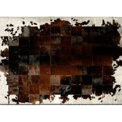 Pure Rugs - Pure Rugs   Park Corbu Cowhide Rug - Designed by The Pure Team.
