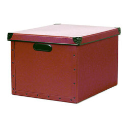 Cargo - Cargo Naturals Dual File Box - Transform your unruly piles into neatly organized files with this trusty box. Perfect for hanging files, letter files or simply as a storage bin, this sturdy, good-looking, ecofriendly file box will restore order (and style) to your space in no time.