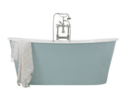 Penhaglion - The Skye Cast Iron French Bateau Tub Package - Product Details