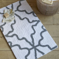 eclectic bath mats by West Elm