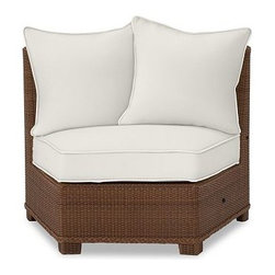 Palmetto All-Weather Wicker Rounded Armless Chair Cushion Slipcover, Natural - Crafted from Sunbrella(R) fabric or water-repellent, ring-spun polyester, our cushion slipcovers are the perfect match for the strength and durability of our outdoor collections. Click to read an article on {{link path='pages/popups/palmetto-care_popup.html' class='popup' width='640' height='700'}}recommended care{{/link}}. Water-repellent, ring-spun polyester, or Sunbrella(R) fabric slipcovers for Palmetto cushions. Sunbrella(R) fabric is specially designed to resist fading, mildew, chlorine and stains. Machine wash slipcover. Sunbrella(R) cushions and slipcovers are special order items which receive delivery in 3-4 weeks. Please click on the shipping tab for shipping and return information. Catalog / Internet only. Imported. View our {{link path='pages/popups/fb-outdoor.html' class='popup' width='480' height='300'}}Furniture Brochure{{/link}}.