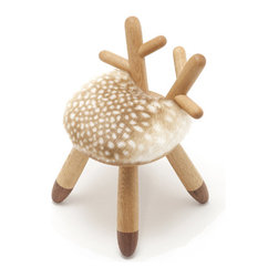 Bambi Chair - This petite chair by Rigna makes me smile. I'm a chair collector myself, and I want to add this one to my collection.
