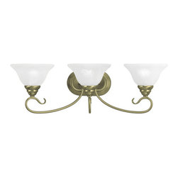 Livex Lighting - Livex Lighting 6103 Coronado 3 Light Bathroom Vanity Light - Features: