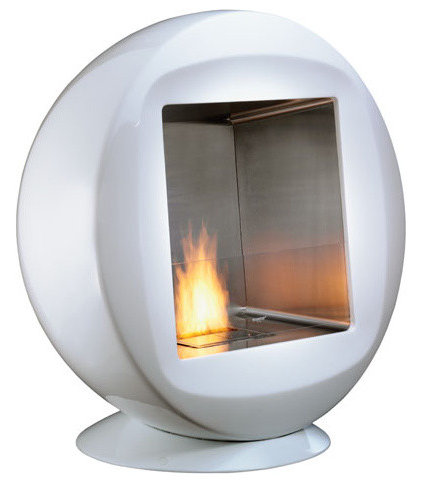 Modern Indoor Fireplaces by Stardust