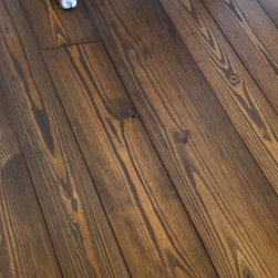 Authentic Pine Floors - Solid Antique / Reclaimed Heart Pine Prefinished Sample Box - Every prefinished floor is produced when ordered, so your floor will be made for you.