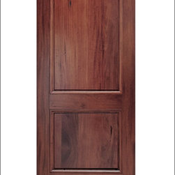 MAI - Walnut Entry Door M0del # A79-ER - These doors are constructed from an Andean Walnut.  They are not only beautiful they are also customizable.  You can add items like Calvos, Speakeasys, Straps and Crossbucks to these doors for a perfect match to your homes existing characteristics.  For more information, please feel free to contact Doors4Home where one of our sales associates can help you customize the perfect door.