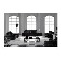 Hawkesbury Italian Leather Sofa Set - As comfortable as it is visually stunning, the Hawkesbury Italian Leather Sofa Set is the ultimate for any living room decor.  100% Italian leather upholsters a sturdy hardwood frame, ensuring enjoyment for years to come.