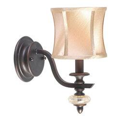 World Imports - Chambord 1-Light Sconce, Weathered Bronze - Weathered Copper finish