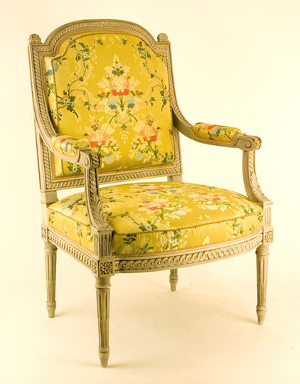 traditional armchairs Louis XV1 French Armchair
