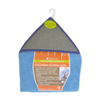 Full Circle - Full Circle Home The Edge Microfiber Scrubby Cloth , Case of 6 , Pack - Going paperless in your kitchen doesn't have to be a hassle. The Full Circle The Edge Microfiber Scrubby Cloth simplifies Cleaning the paper,free way by giving you two highly effective Cleaning cloths in one.