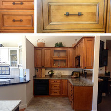 Traditional Kitchen Cabinetry by Quesco Cabinets