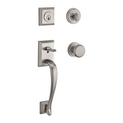Baldwin Hardware - Reserve Napa SC Handleset with Round Knob and Round Rose in Satin Nickel - Baldwin Reserve combines the tradition of original craftsmanship with advanced technology to provide locks that stand the test of time. Reserve is ideal for designers and homeowners craving a personalized blend of styles.